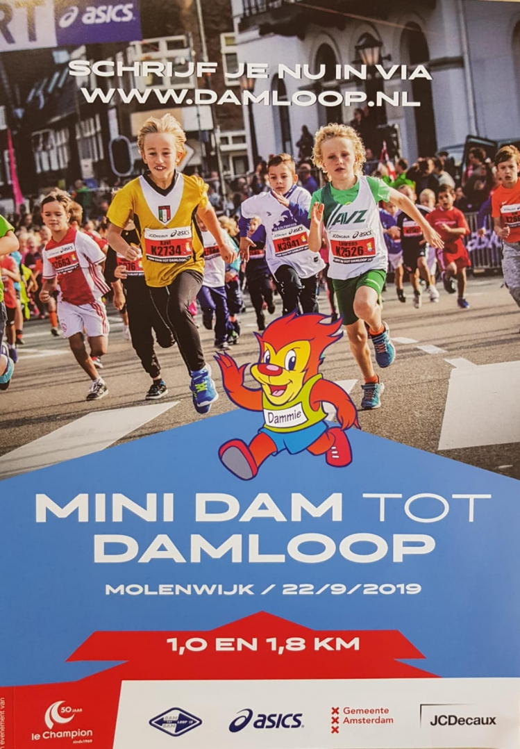 Mini Dam tot Damloop